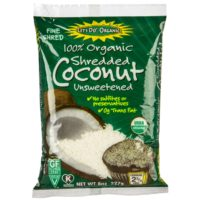 Let's Do Organic Unsweetened Organic Shredded Coconut