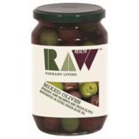 Raw Health Organic Mixed Kalamata + Green Olives