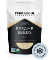 TerraSoul Organic Hulled Sesame Seeds