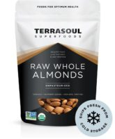 TerraSoul Raw Unpasteurized Organic Almonds