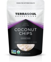 TerraSoul Raw Organic Coconut Chips