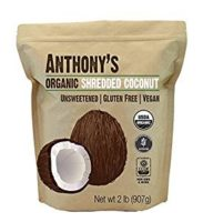 Anthony's Shredded Organic Unsweetened Coconut