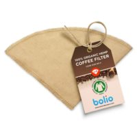 Bolio Organic Hemp Reusable Coffee Filters