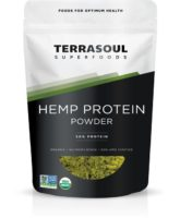 TerraSoul Organic Hemp Protein Powder